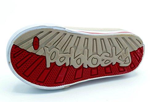 Pablosky 981850 - Zapatilla de lona con puntera de goma