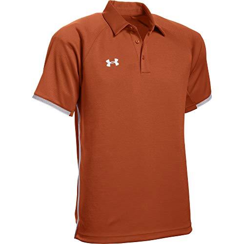 Under Armour Men's UA Rival Polo (3X-Large, Texas Orange)