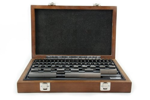Shars Tool 81 Piece Steel Precision Gage Block Set with Nist Traceable Certificate: .1001