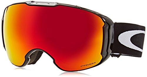 Oakley Men's Airbrake XL Snow Goggles, Jet Black, Prizm Torch Iridium, Large (Oakley Snowboard Goggles Pink)