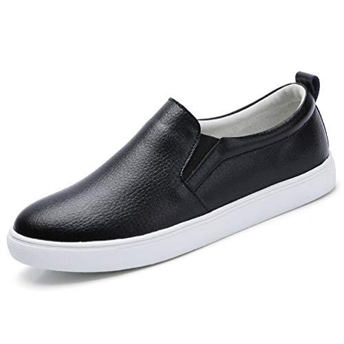 Donne Pelle Sneakers Shoes Casual Nero camoscio Flats Femal A Scarpe Autunno qBSwqrO