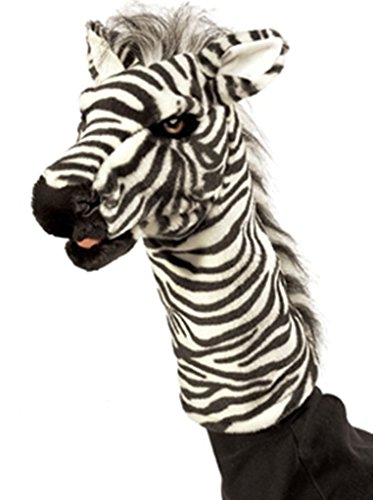 (Zebra Stage Puppet by Folkmanis Puppets)