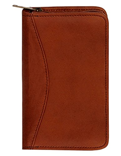(Scully Canyon Leather Zip Pocket Planner (Tan))