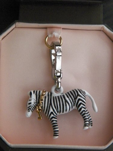 Couture Zebra - Juicy Couture Zebra Silver Plated Bracelet Charm