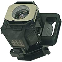 AuraBeam Economy Epson Home Cinema 8350 Projector Replacement Lamp with Housing