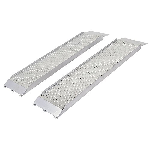 (Guardian S-368-1500-P Dual Runner Shed Ramps with Punch Plate Surface - 8
