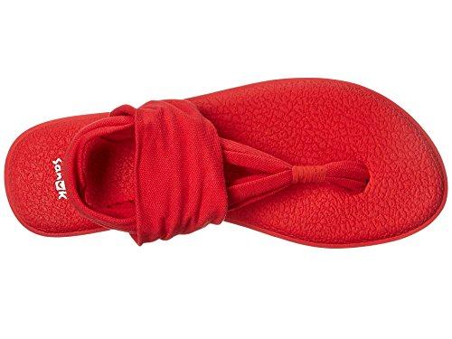 Sanuk Kvinners Yoga Fatle To Flip Flop Tomat ...