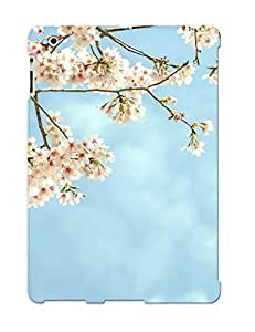 Awesome Design Flowers Blooms Branches Tree Hard Case Cover For Ipad 2/3/4(gift For Lovers)