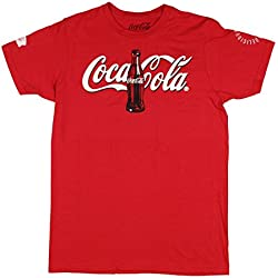Coca-Cola Classic Mens T-Shirt in Red