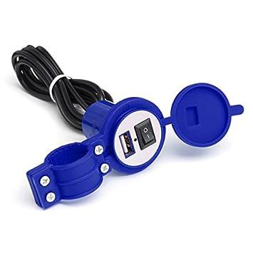 GOZAR 12V 1.5 A 5V Wasserdicht USB Ladegerät Motorrad Auto Steckdose ...