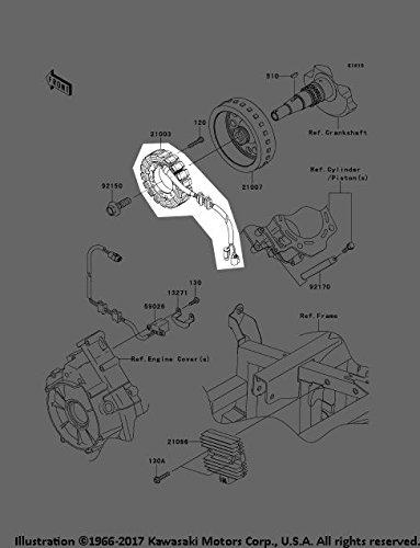 Kawasaki 2013 13 Teryx 750 FI 4x4 LE Sport Stator Assembly 21003-0125 New OEM