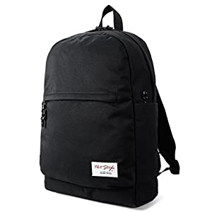 HotStyle 969s Lightweight School Backpack | Unisex | Holds 15-inch Laptop - Black