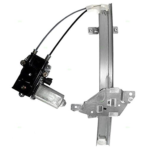 Drivers Rear Power Window Lift Regulator with Motor Assembly Replacement for Buick Oldsmobile (Oldsmobile Intrigue Rear Window Regulator)