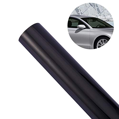 ATMOMO 20% VLT Window Tint for Car Home Office Glass Sun Blocking Insulation Film UV Protection Window Tint Film Roll 0.5Mx3M