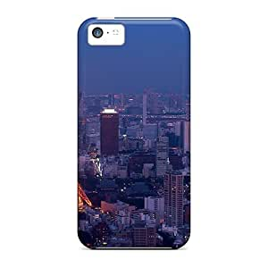 New Fashion Premium Tpu Case Cover For Iphone 5c - Tokyo By Night