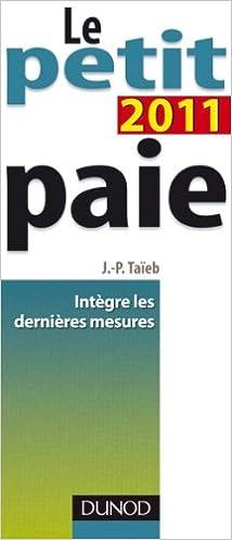 Livres gratuits Le petit paie 2011 epub, pdf