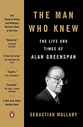 Amazon the man who knew the life and times of alan greenspan print list price 2200 fandeluxe Choice Image