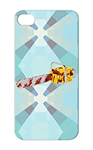 Bloody Chainsaw Silver Cartoon Funny Scratch-resistant For Iphone 5s Case Cover