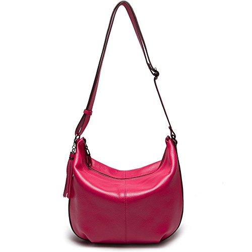 Nueva Lady Red La De Moda Una Tiene Minimalista Hombro Rose GWQGZ Bolsa Violeta pq5wxCIq