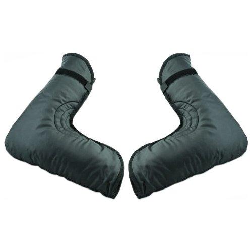 Raider BCS-HB ATV/Snowmobile Handlebar Gauntlet Gloves, Black