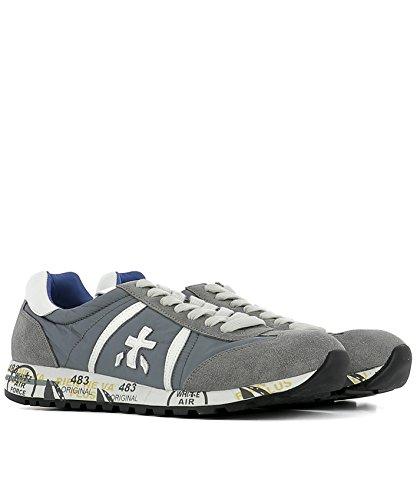 PREMIATA Sneakers Uomo Lucy618e Camoscio Grigio