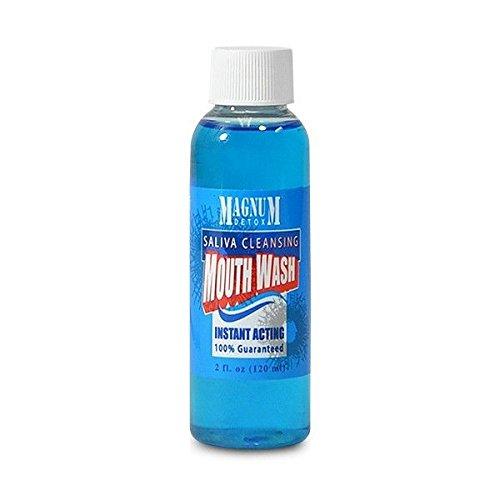 5 Pack - Magnum Detox Saliva Cleansing Mouthwash 2 Fl Oz - Saliva Detox