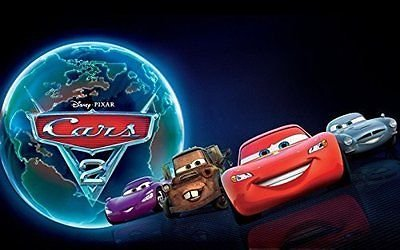 sdore Disney Cars The Movie 2 comestible 1/4 hoja imagen ...
