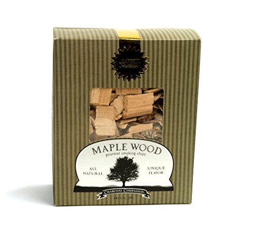 Gourmet Wood Smoking Chips - Charcoal Companion Maple Wood Gourmet Smoking Chips