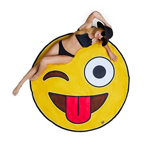 BigMouth Inc Gigantic Emoji Blanket