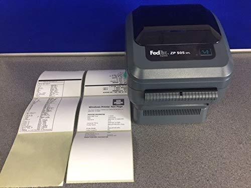 Zebra Fedex ZP505 US Kinkos Custom ZP505-0503-0022 by Zebra Technologies (Refurbished)