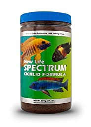 New Life Spectrum Cichlid Formula 1mm Sinking Freshwater Pet Food, 500gm