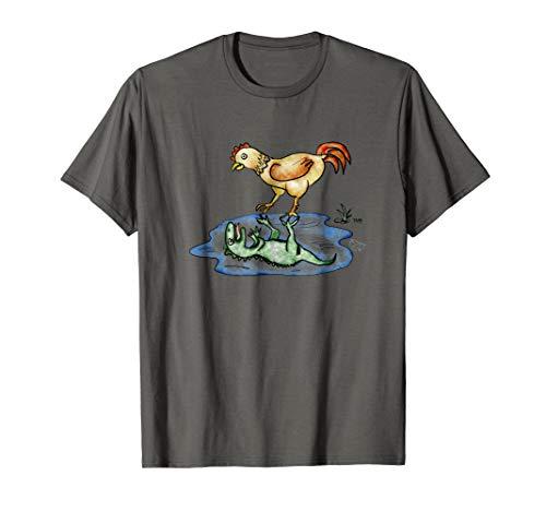 Chicken Dinosaur Funny Evolution T-Shirt Science Lover Shirt