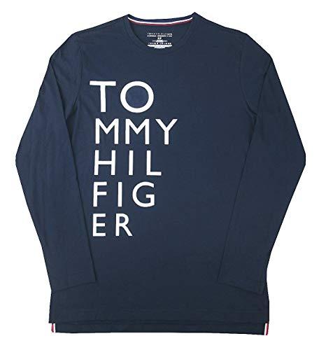 4fbf051e9365 Tommy Hilfiger Men s Modern Essentials Cotton Jersey Crew Neck Long Sleeve  Shirt