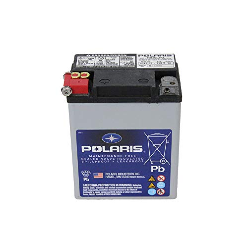 Genuine Polaris Part Number 4011138 - BATTERY-SEALED,14AH,ETX15 for Polaris ATV / Motorcycle / Snowmobile/ or Watercraft