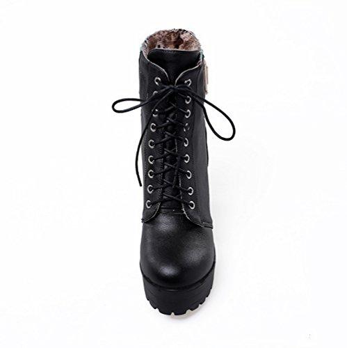 Donna Stivaletto Balamasa Pantofole A Black q70W8Zaw