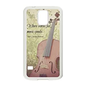 Elegant Piano CUSTOM Cover Case for SamSung Galaxy S5 I9600 LMc-82214 at LaiMc