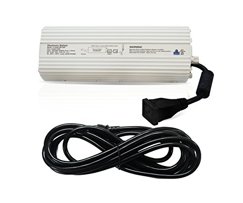 - Hydro Crunch 600W HPS MH Digital Dimmable Ballast for Grow Lights