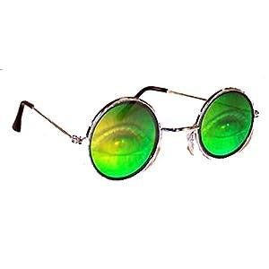 Human Eyes with Lashes Hologram 3d Novelty Adult Unisex Sunglasses