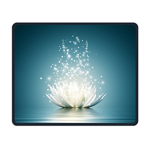- Center Pad Crystal Flower Smooth Personality Design Mobile Gaming Mouse Pad
