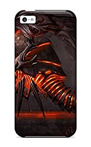 Quality Josphine Contreras Case Cover With Evil Creature Dragon Fantasy Abstract Fantasy Nice Appearance Compatible With Iphone 5c