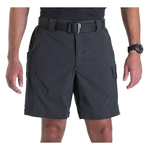 5.11 Shorts tácticos de patrulla de bicicleta de entrepierna de 9 pulgadas para hombres, tela de nylon spandex, estilo 43057