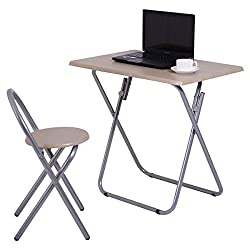 Kids Study Writing Desk Table Chair Set Folding Student Children Home School New Item Ways