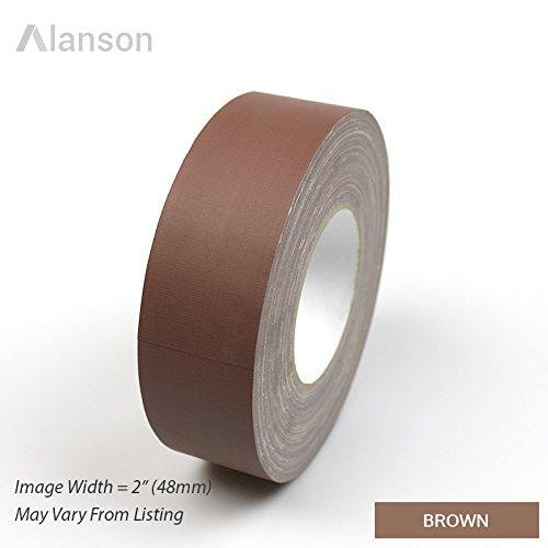 "1""  Brown  Standard Grade Gaffers Tape"