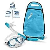 PRODIVE Premium Dry Top Snorkel Set - Impact Resistant...