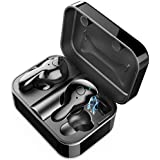 Wireless Earbuds, Magic Buds True Wireless Bluetooth Headphones/Headset 5.0 Mini in Ear Sport Earphones with Automatic Connected IPX6 Waterproof 3D Stereo Sound HD Microphone for iPhone, Android iOS