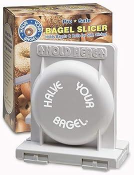 Halve Your Bagel Versatile Bagel Slicer