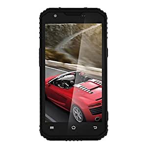Generic DTNO. 1 Vphone M3 Triple Proofing Phone, 2GB+16GB, 4500mAh Battery, IP68 Waterproof Dustproof Shockproof, 5.0 inch Android 5.1 MTK6735 Quad Core up to 1.3GHz, Network: 4G, Dual SIM, GPS(Black)