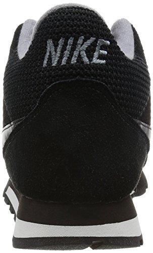 Nike Womens Md Runner Mid Hi Top Scarpe Da Ginnastica 807172 Scarpe Nere