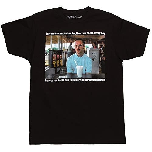 Napoleon Dynamite Men's Napoleon Dynamite Serious Graphic T-Shirt,