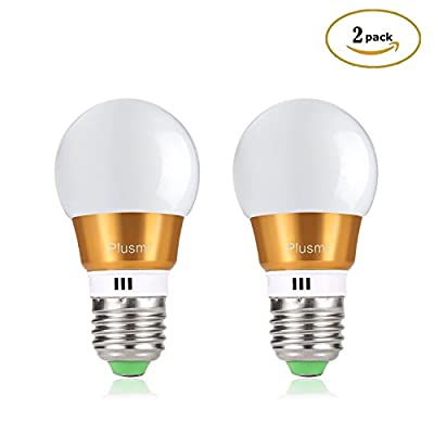 Plusmi E27 LED Bulbs Light Bulbs?5W Equivalent to 40W Incandescent Bulb , 6500k?COOL WHITE (Pack of 2)